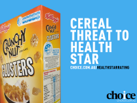 Choice said Kellogg's example of 3.5 stars is confusing to consumers