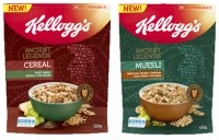 Ancient Legends range includes granola, muesli and cereal