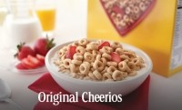 Original Cheerios used to have 25% of the daily value for Riboflavin (vitamin B2) in a 28g serving; the new version has 2%