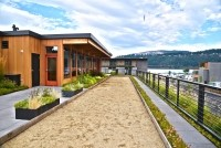 The Tofurky Company's nearly completed facility in Hood River, Oregon, boasts a host of sustainability features.