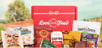 Love with food snack box helps brands sample products efficiently