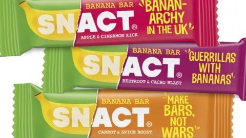 Snact launches banana bars in uk through crowdfunding for Food bar manufacturers uk