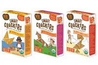 Bitsy's Brainfood's new Smart Crackers were launched in March as part of Target's Made-to-Matter collection