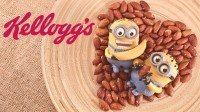 Kellogg's Despicable Me cereal is a brown sugar vanilla flavor breakfast treat featuring large pieces of marshmallows that represent the Minions and their love of bananas. Pic: ©iStock/BAphotography/Kellogg Company