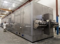 The High Velocity Freezers boast greater capacity and higher yield than other impingement freezers