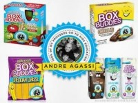 Andre Agassi and V20 Foods launch Box Budd!es kids' snacks