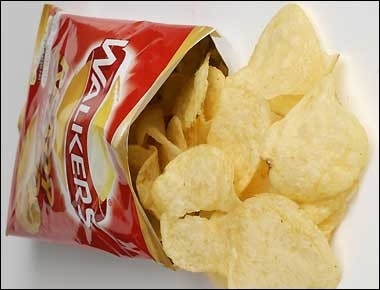 an analysis of the topic of the potato chip packaging equipment Potato chips are thin slices of potato, fried quickly in oil and then salted according to snack food folklore, the potato chip was invented in 1853 by a chef named george crum at a restaurant called moon's lake house in saratoga spring, new york angered when a customer, some sources say it was .